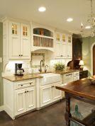 Popular modern french country kitchen design ideas 34