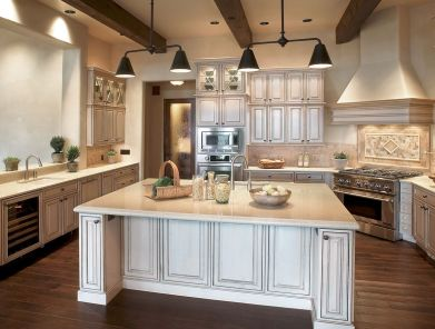 Popular modern french country kitchen design ideas 39