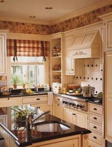 Popular modern french country kitchen design ideas 46
