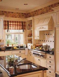 Popular modern french country kitchen design ideas 46