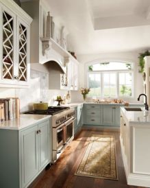 Popular modern french country kitchen design ideas 47