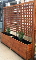 Popular privacy fence ideas 14