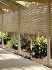 Popular privacy fence ideas 15
