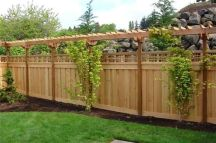 Popular privacy fence ideas 26