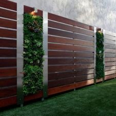 Popular privacy fence ideas 47