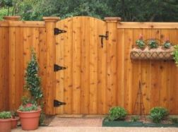 Popular privacy fence ideas 49