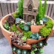 Stunning fairy garden decor ideas 04