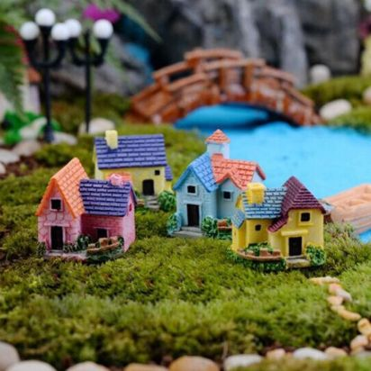 Stunning fairy garden decor ideas 07