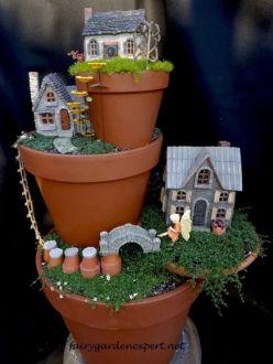 Stunning fairy garden decor ideas 18