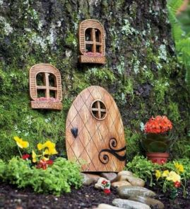 Stunning fairy garden decor ideas 41