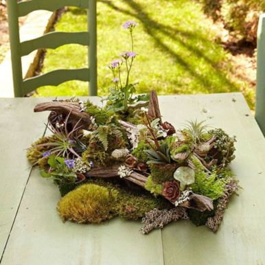 Stunning fairy garden decor ideas 45