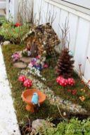 Stunning fairy garden decor ideas 51