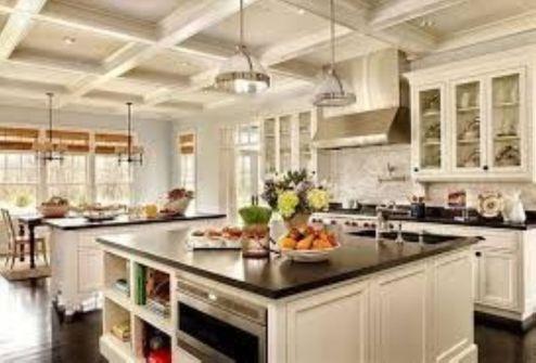Stunning farmhouse kitchen cabinet ideas 09