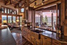 Stunning farmhouse kitchen cabinet ideas 10