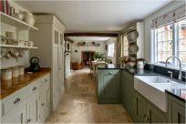 Stunning farmhouse kitchen cabinet ideas 14