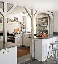 Stunning farmhouse kitchen cabinet ideas 15