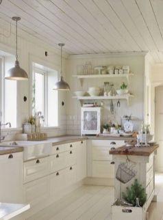 Stunning farmhouse kitchen cabinet ideas 20