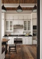 Stunning farmhouse kitchen cabinet ideas 26