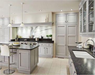 Stunning farmhouse kitchen cabinet ideas 32