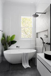 Stunning scandinavian bathroom design ideas 23