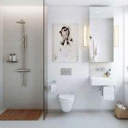 Stunning scandinavian bathroom design ideas 33