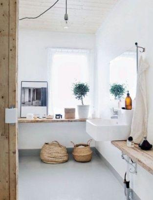 Stunning scandinavian bathroom design ideas 38