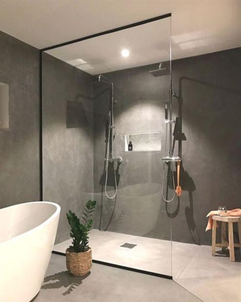 Stunning scandinavian bathroom design ideas 43