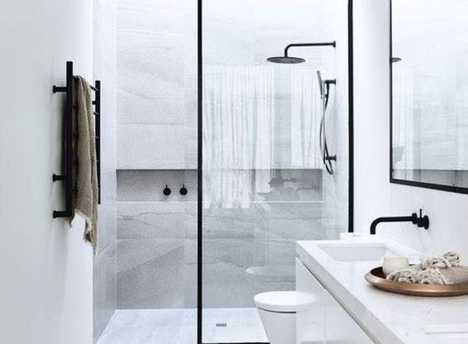 Stunning scandinavian bathroom design ideas 46