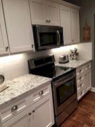 Stylish modern farmhouse kitchen makeover decor ideas 27