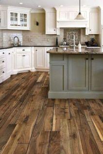 Stylish modern farmhouse kitchen makeover decor ideas 29
