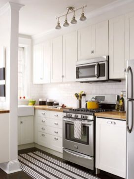 Stylish modern farmhouse kitchen makeover decor ideas 30