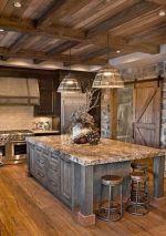 Stylish modern farmhouse kitchen makeover decor ideas 41