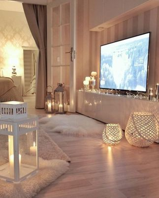 Ultimate romantic living room decor ideas 48