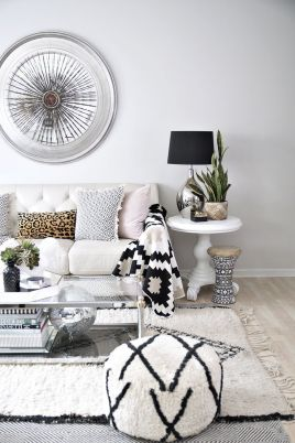 Adorable apartment living room decorating ideas 09