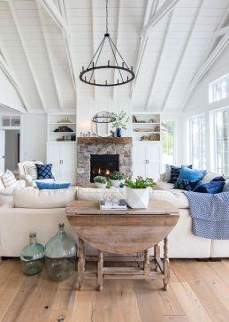 Adorable apartment living room decorating ideas 24