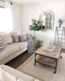 Adorable apartment living room decorating ideas 43