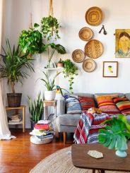 Adorable apartment living room decorating ideas 45