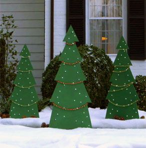 Awesome winter yard decoration ideas 27