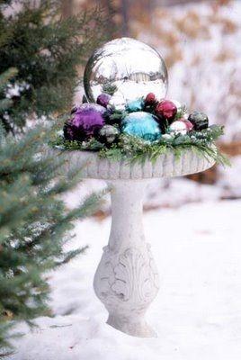 Awesome winter yard decoration ideas 39