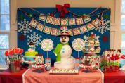 Charming winter wonderland party decoration kids ideas 05