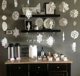 Charming winter wonderland party decoration kids ideas 18