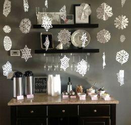 Charming winter wonderland party decoration kids ideas 18