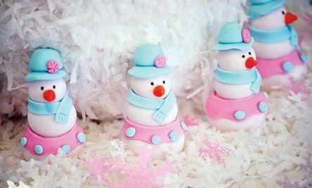 Charming winter wonderland party decoration kids ideas 20
