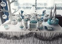 Charming winter wonderland party decoration kids ideas 22