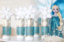 Charming winter wonderland party decoration kids ideas 25