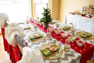 Charming winter wonderland party decoration kids ideas 29