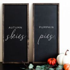 Cheap and easy fall decorating ideas 23