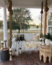 Fancy farmhouse fall porch decor and design ideas 04
