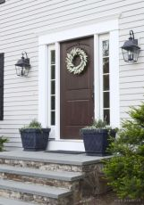 Fancy farmhouse fall porch decor and design ideas 21