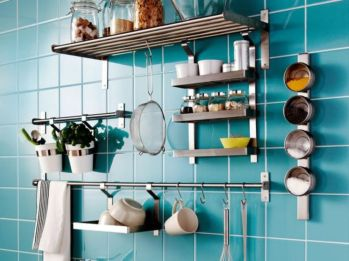Fantastic kitchen organization ideas for small apartment 04